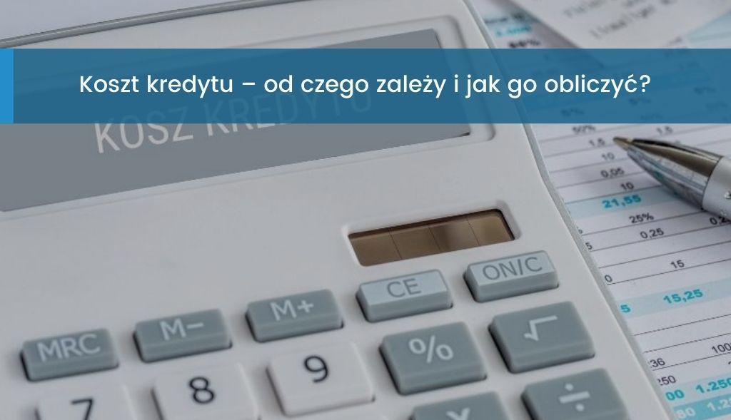 Koszt kredytu